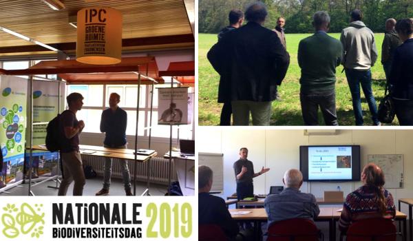Nationale Biodiversiteitsdag 2019 bij het IPC