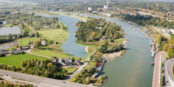 """NL-09/10/09 Luchtfoto """"Ruimte voor de Rivier"""": IJssel: Arnhem-Kampen"""
